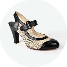 ReMix Vintage Shoes Lillie