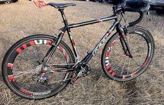 Amanda Carey's Felt F15X Amanda Carey, Cyclocross Bikes, Bicycles, Felt, Beautiful, Felting, Feltro, Bike, Bicycle