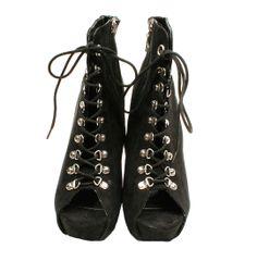 Tacones negros Peep Toe Stylist Pick 48€