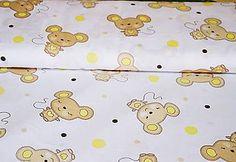 Textil - Béžovo-žlté myšky - 6746122_