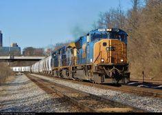 CSX # 4724 leads frac and sand train at Columbus, OH on Csx Transportation, Trains, Ohio, Modern, Columbus Ohio, Trendy Tree, Train