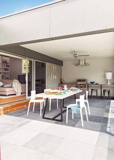 Home inspiration: sparklingly modern coastal home - Homes, Bathroom, Kitchen & Outdoor   Home Beautiful Magazine Australia