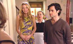 """Serena Van der Woodsen wearing Peter Pilotto, Dorota, and Dan Humphrey in the episode """"The Fugitives""""........"""