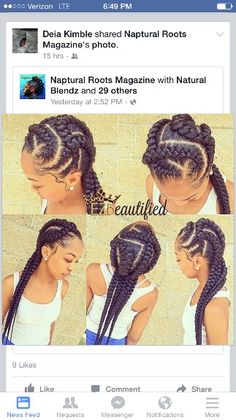 Mutiple braids