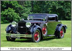 1929 Stutz Model M, via Flickr.