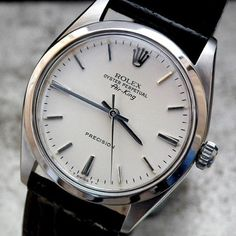 Best Looking Watches, Best Watches For Men, Luxury Watches For Men, Cool Watches, Rolex Watches, Modern Watches, Vintage Watches, Rolex Air King, Dream Watches