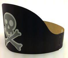 Resultado de imagem para molde chapéu de pirata