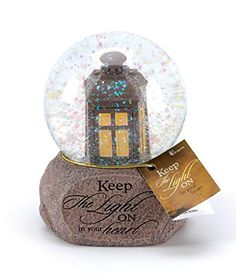 Keep The Light On Sympathy Bereavement Water Globe *** You can find more details by visiting the image link.