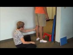 Improving Standing and Balance with Stairs - YouTube