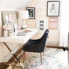 Home Office Setup, Home Office Organization, Home Office Design, Home Office Furniture, Furniture Design, Office Ideas, Office Inspo, Men Office, Corner Furniture