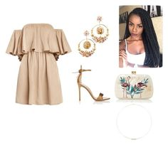 """""""Sem título #426"""" by thydearsmile on Polyvore featuring moda, Dolce&Gabbana, Gianvito Rossi, Serpui, Jennie Kwon, chic, party, boho, partydress e goals"""