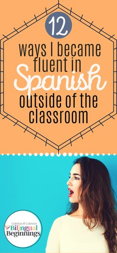12 Ways to Become Fluent in Spanish Outside of the Classroom — Lorena & Lennox Bilingual Beginnings Study Spanish, Spanish Lessons, How To Speak Spanish, Learn Spanish, Spanish Language Learning, Teaching Spanish, Bilingual Education, Education Logo, Vocabulary Games