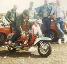 Morecambe Scooter Rally 1984