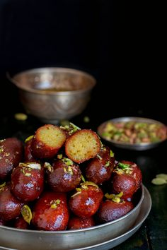 Finally I conquered my fear over gulab jamun and kala jamun. I have baked different varieties of desserts,sweets and got a descent result every time.Cakes,co. Easy Indian Recipes, Indian Dessert Recipes, Indian Sweets, Sweets Recipes, Asian Recipes, Healthy Recipes, Mauritian Food, Jamun Recipe, Bangladeshi Food