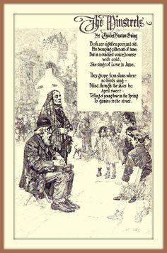 1914 The Minstrels by Franklin Booth (carlylehold) by carlylehold (flickr) Tags: franklin booth pen ink drawing illustration picture haefner carlylehold 1914 robertchaefner robert c bob