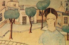 Frida In Coyoacan 1927 by Frida Kahlo
