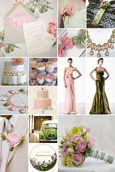 Dusty Rose Mint Gold And Cream On Pinterest Dusty