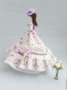 Купить Текстильная кукла.Тряпиенс.Алина - сиреневый, тряпиенса, тряпиенсы, тряпиенс, корейские тряпиенсы ♡