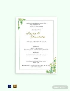 Instantly Download Fall Wedding Program Template, Sample & Example in Adobe Photoshop (PSD), Adobe Illustrator (AI) Microsoft Word (DOC), Microsoft Publisher (PUB), Apple Pages (Pages) Format. Available in 4x6, 5x7 Inches +Bleed. Quickly Customize. Easily Editable & Printable.