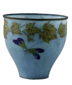 Albert Dammouse (1848-1926). Vase. 1927. Pâte de verre. Petit Palais - Musée des Beaux-Arts de la Ville de Paris - France