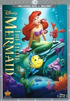 The Little Mermaid (DVD)-With unforgettable characters, thrilling adventures, soaring Academy Award-winning music (1989: Best Music, Original Score, and Best Music, Original Song, Under The Sea.), The Little Mermaid is one of the most celebrated animated films of all time. Now spectacularly transformed for the first time on Blu-ray with digitally restored picture and brilliant high-definition sound! Venture under the sea where Ariel longs to be part of the human world.