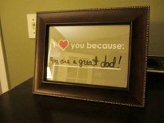 Valentine's Day DIY Gift – I Love You Because…