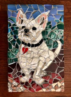 Mosaic Animals, Mosaic Garden, Mosaic Crafts, Mosaics, Art Projects, Dog Cat, Moose Art, Lion Sculpture, Birds