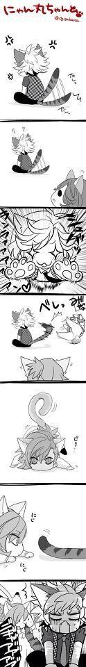Ranmaru, Reiji and Ai - chibi ^^