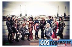 Costoberfest 2015: Lady Avengers group