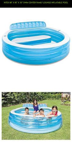 """Intex 88"""" X 85"""" X 30"""" Swim Center Family Lounge Inflatable Pool #gadgets #pools #kit #parts #camera #racing #drone #plans #inflatable #shopping #technology #fpv #products #tech"""