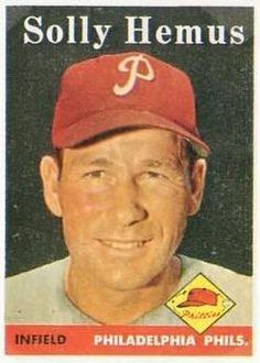 207 - Solly Hemus - Philadelphia Phillies