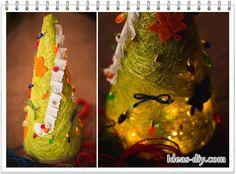 DIY Sisal Tree Christmas