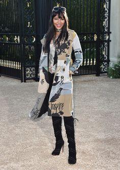 Naomi Campbell - Street style.