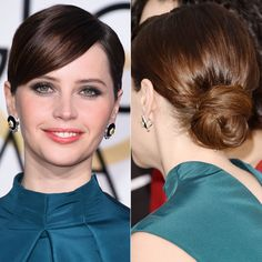 Amazing Wedding Updos from Every Angle - Felicity Jones  - from InStyle.com