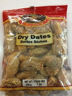 Dry Dates 7oz * Continue to the product at the image link.