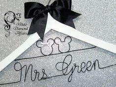 Mickey and Minnie Mouse Disney Wedding by WhiteDiamondAffairs, $29.95