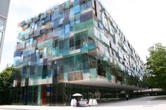 Amazing building in Basel, Switzerland