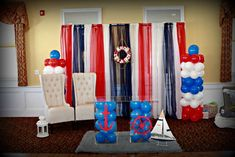 Nautical Baby Shower Party Ideas | Photo 1 of 15 | Catch My Party