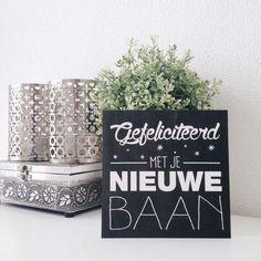 Wenskaart Nieuwe Baan