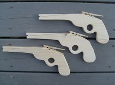 Party Package  12 Rubber Band Guns by BackwoodsToys on Etsy