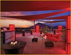 rooftop party at the Valley Ho in Scottsdale AZ