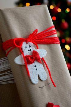 DIY: tag chiudipacco e idea packaging per Natale | Raggio di Sole