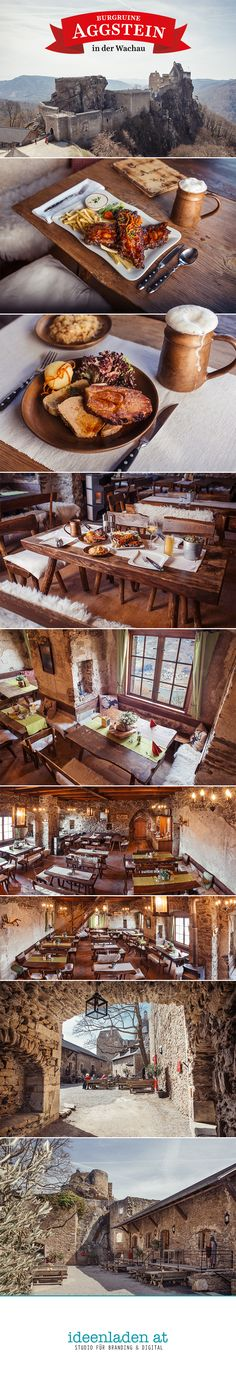 Shooting at the Taverna at Aggstein Castle Ruin Castle Ruins, Branding, New Looks, Road Trip Destinations, Projects, Brand Identity, Branding Design, Brand Management