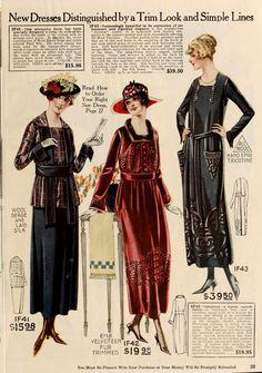 Ladies Dresses - Winter 1919/20