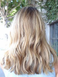 sunkissed sandy blonde hair color by sarah conner
