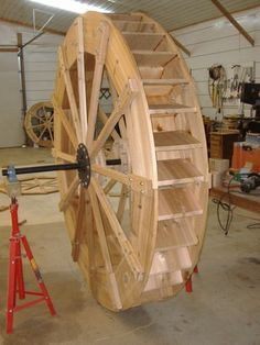 View some of our water wheels that we have made. Water Wheel Generator, Woodworking Plans, Woodworking Projects, Pallet Dog Beds, Water Turbine, Hydroelectric Power, Water Powers, Water Mill, Le Moulin