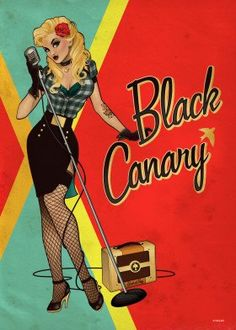 Drawing Dc Comics Black Canary - See amazing artworks of Displate artists printed on metal. Easy mounting, no power tools needed. Marvel Girls, Comics Girls, Marvel Dc, Gotham Girls, Catwoman Cosplay, Witchblade Cosplay, Superman Cosplay, Power Girl, Deathstroke