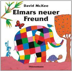 Elmar: Elmars neuer Freund von David McKee http://www.amazon.de/dp/3522437225/ref=cm_sw_r_pi_dp_AHg9vb0NFCS2C