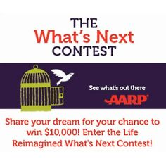 Enter the Whats Next Contest for a chance to win up to $10,000 - http://getfreesampleswithoutsurveys.com/enter-the-whats-next-contest-for-a-chance-to-win-up-to-10000