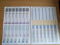 Make your own stickers for planner, journal etc. (Avery templates for download) great idea!
